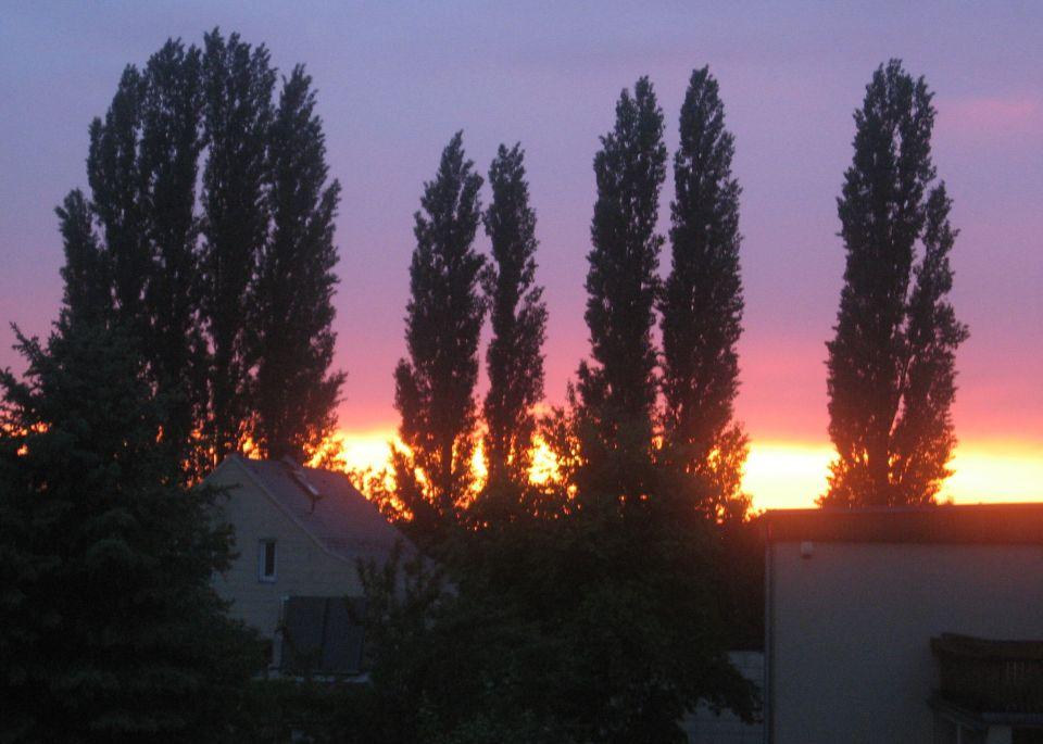 Abendstimmung im Norden von Wien