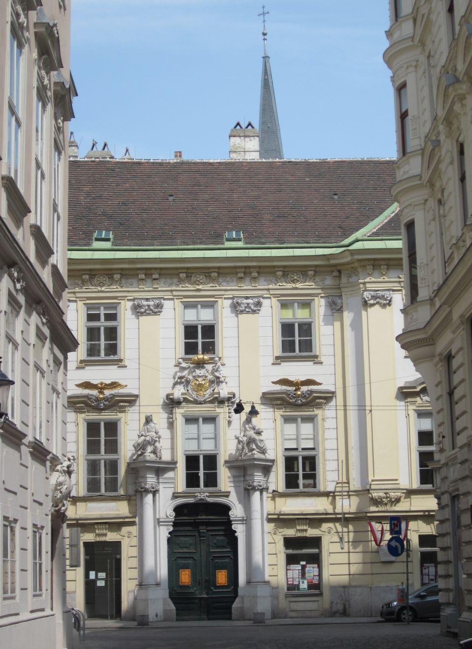 Das alte Rathaus von Wien