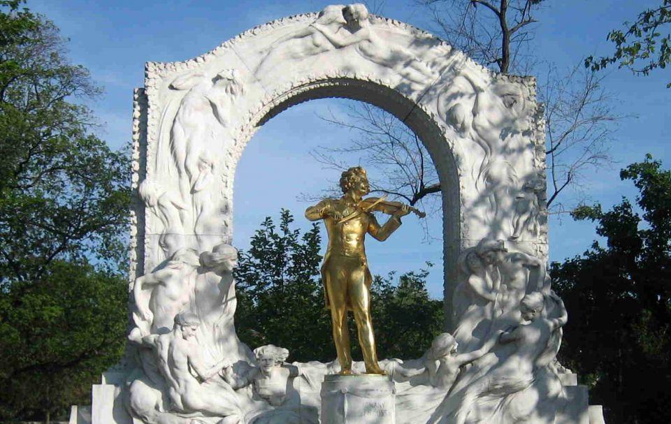 Johann Strauss Denkmal im Stadtpark