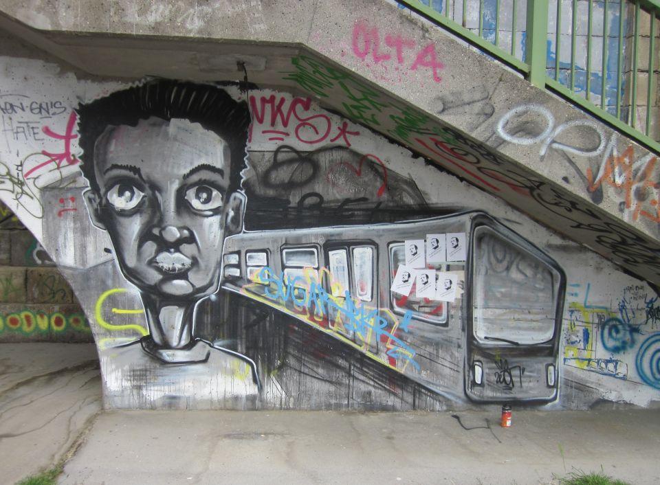 Grafitti - Ich glaube, ich nehme besser den Zug