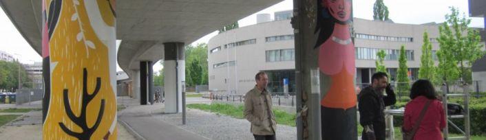 Grafittis von Speto in Wien