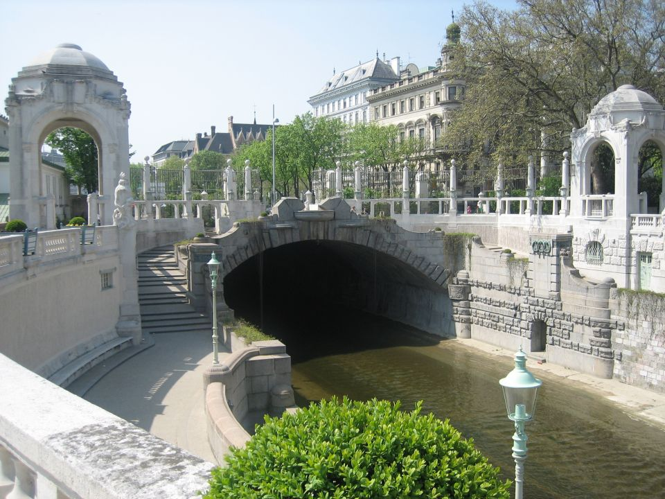 Stadtpark - Wienfluß Öffnung