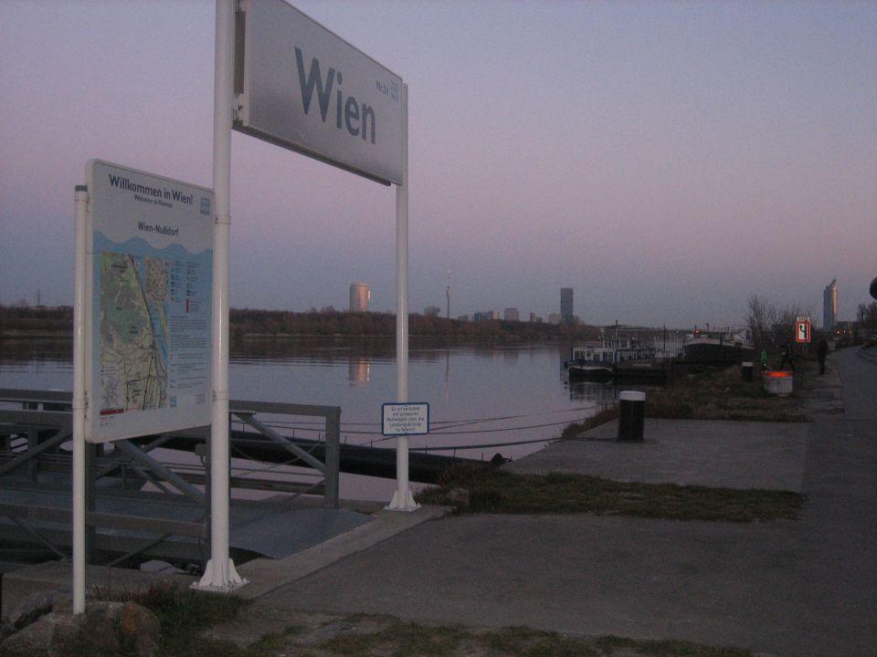 Anlegestelle in Nussdorf, im 19.Bezirk